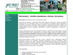 www.drabiny-mat-project.pl